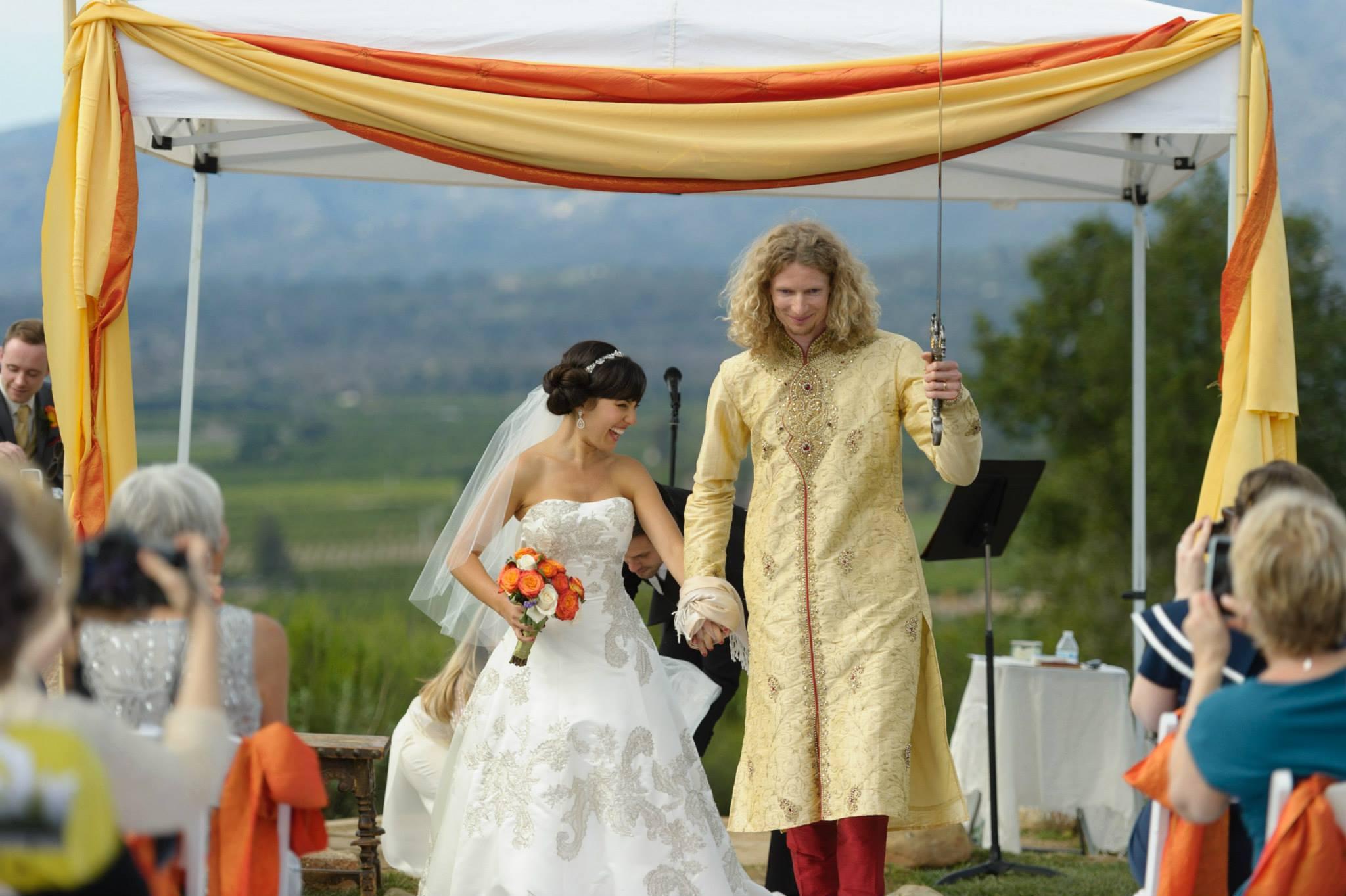 asher and lyric wedding