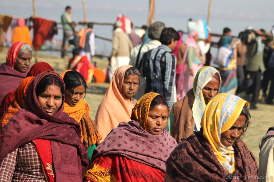 Indian Women at the Kumbha Mela