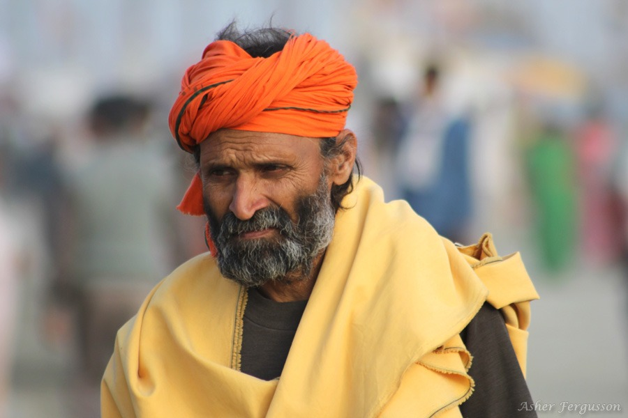 orange turban india