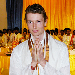 asher fergusson in india