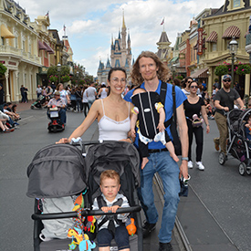 fergusson family at disney world