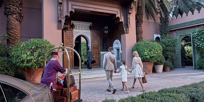The Royal Mansour, Marrakech, Morocco