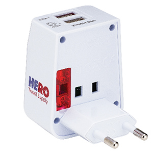 Greece power adapter